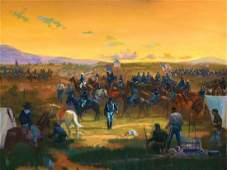 Jim Carson  Custer Divides the 7th Calvary