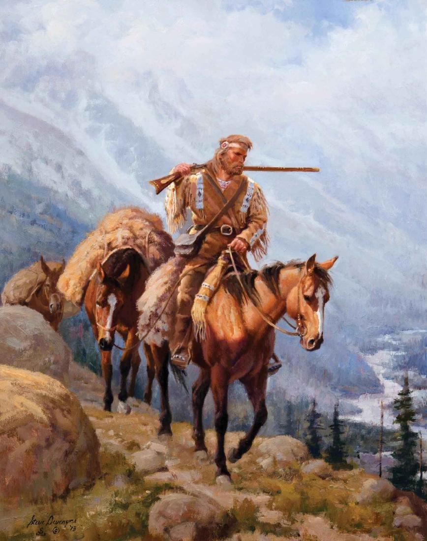 Steve Devenyns - Buckskin Trapper
