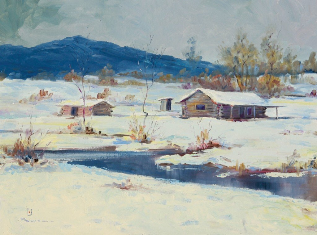 104: Winter Cabin