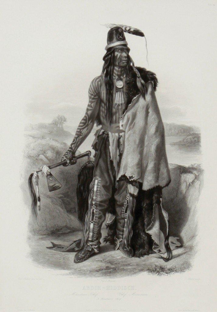 117: Abdih (Addih)-Hiddisch/A Minatarri Chief