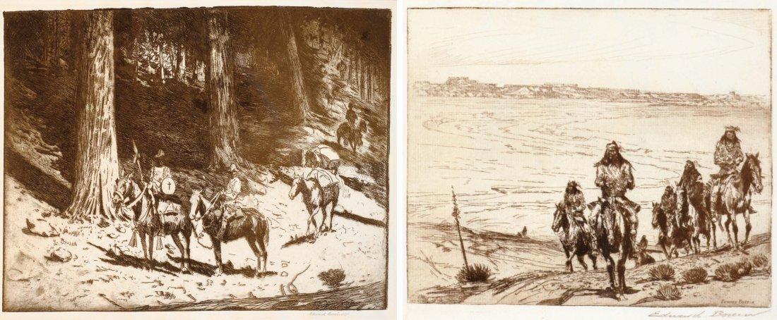 Conquistadores Entering California and Tonto Apaches