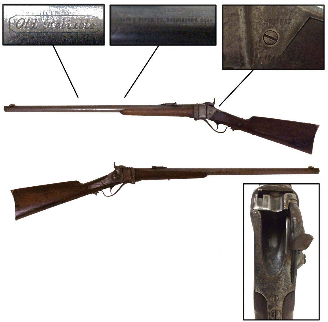 Sharps Rifle Company, single trigger 45 caliber rifle