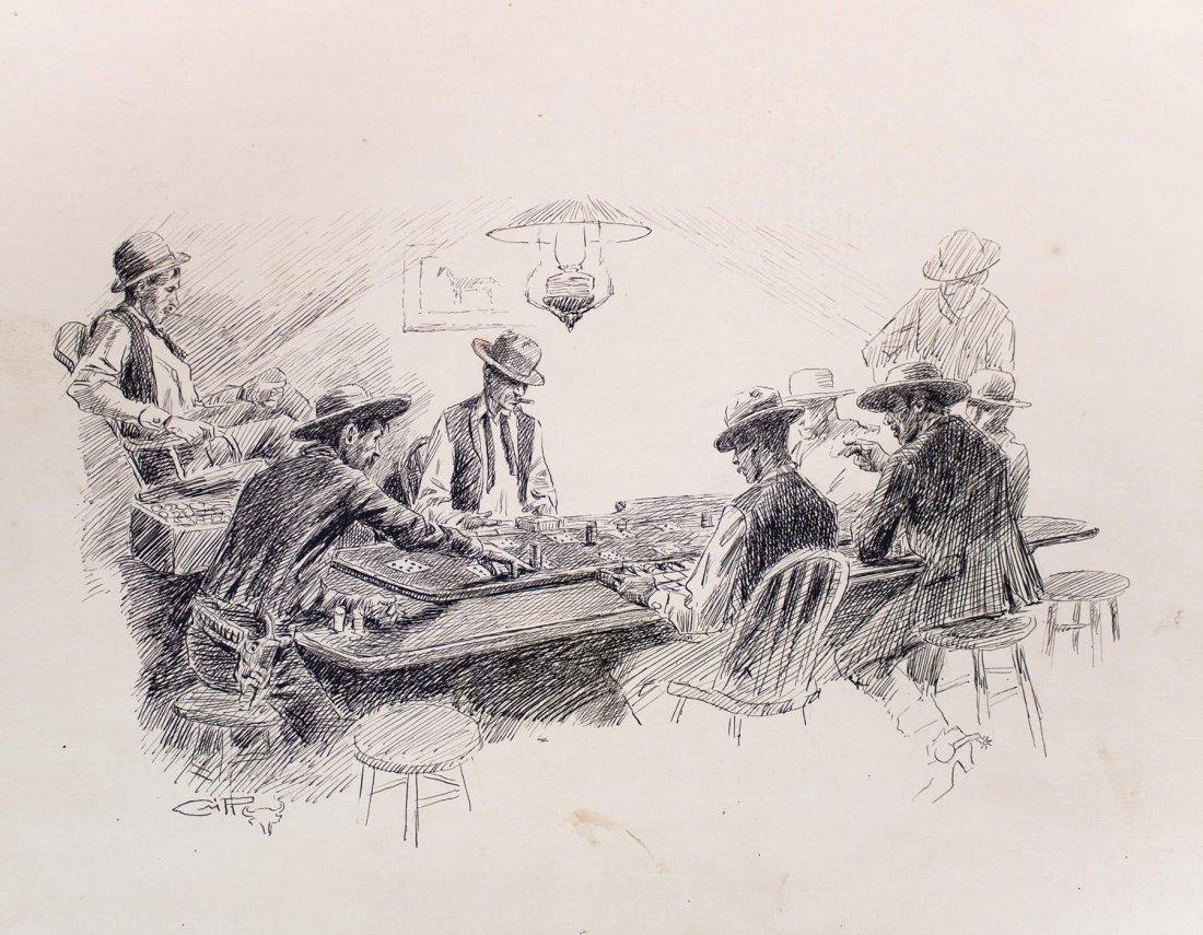Faro Layout,  c. 1910