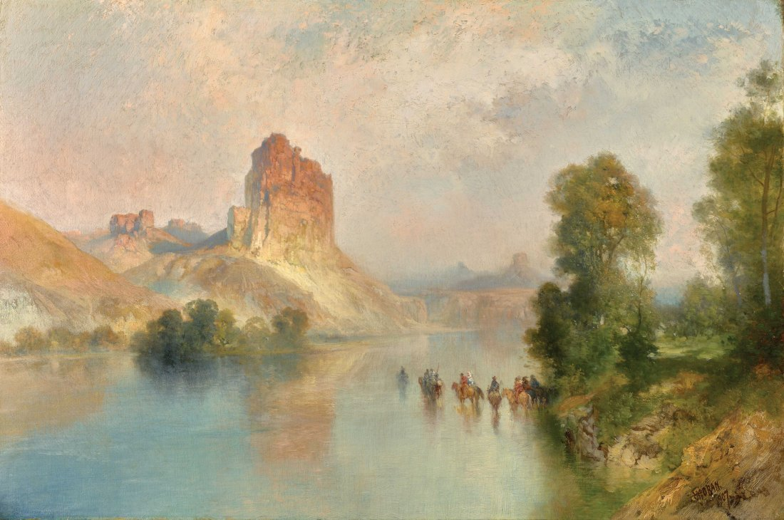 Castle Rock, Green River, Wyoming