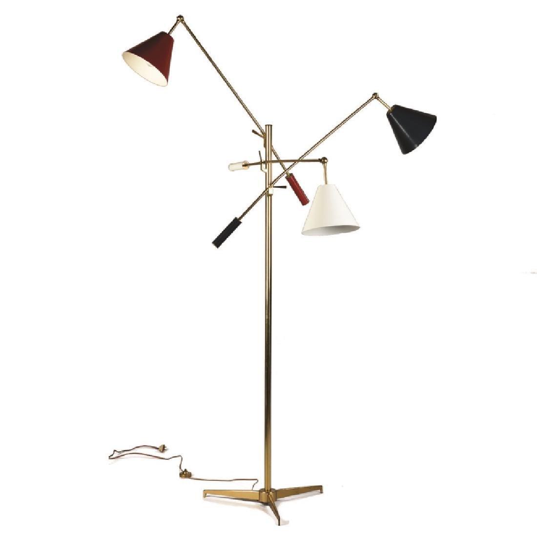 """Angelo Lelli for Arredoluce Monza """"Triennale"""" Lamp"""