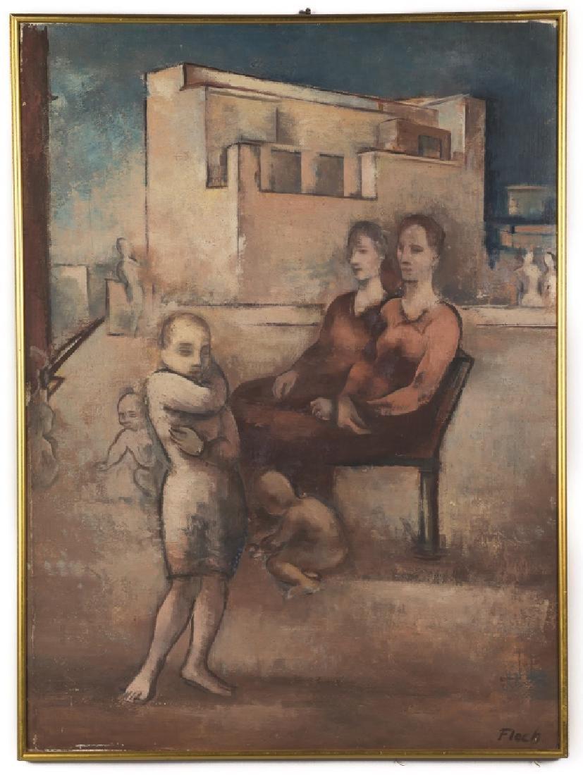 Joseph Floch (American/Austrian, 1894-1977) Women and