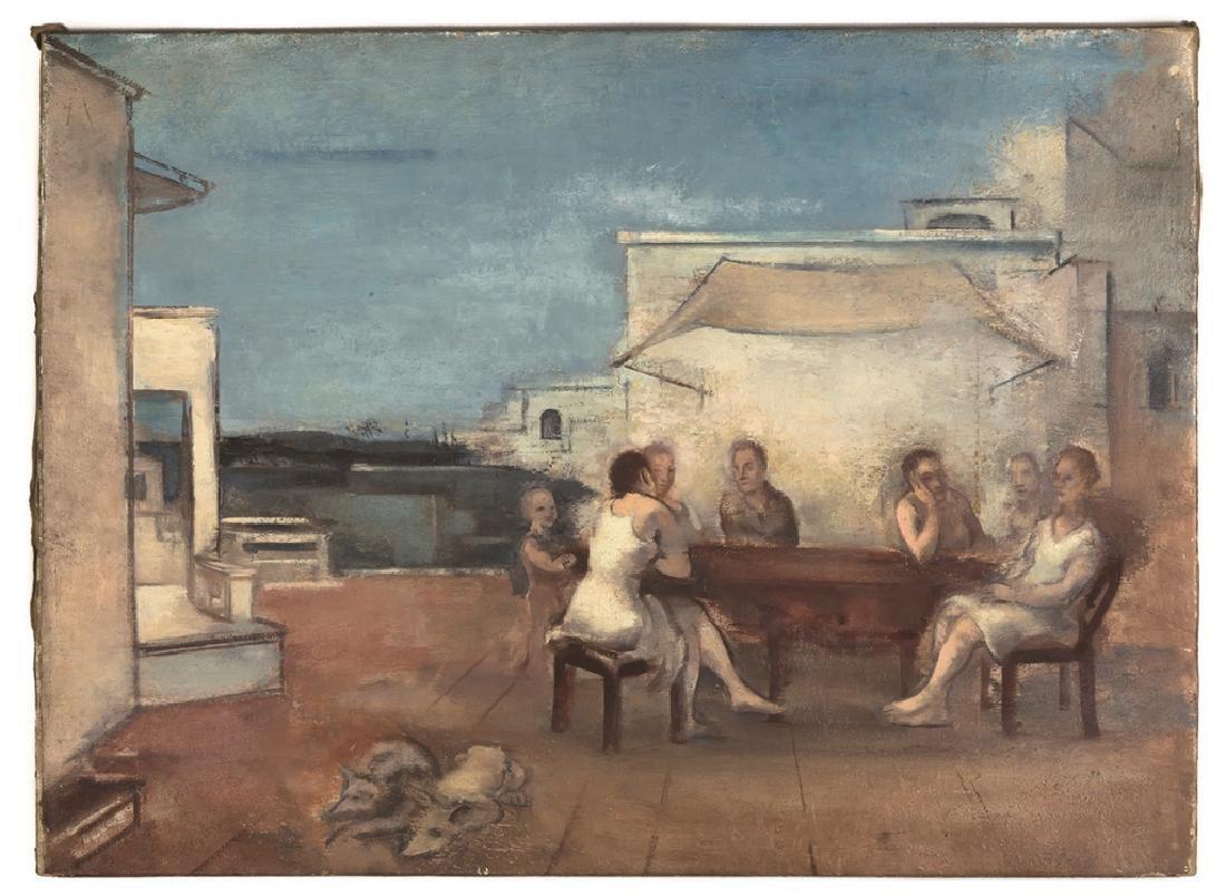 "Joseph Floch (American/Austrian, 1894-1977) ""Table"