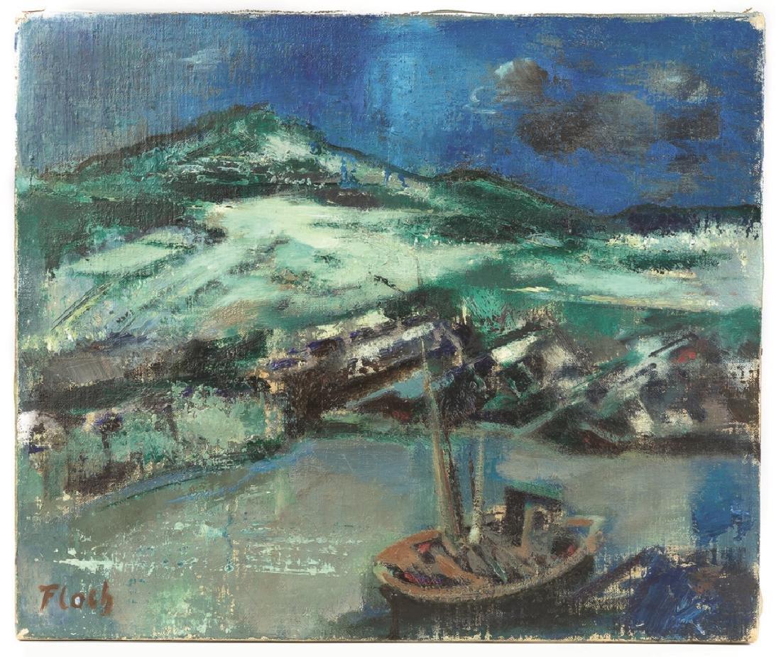 Joseph Floch (American/Austrian, 1895–1977) Untitled