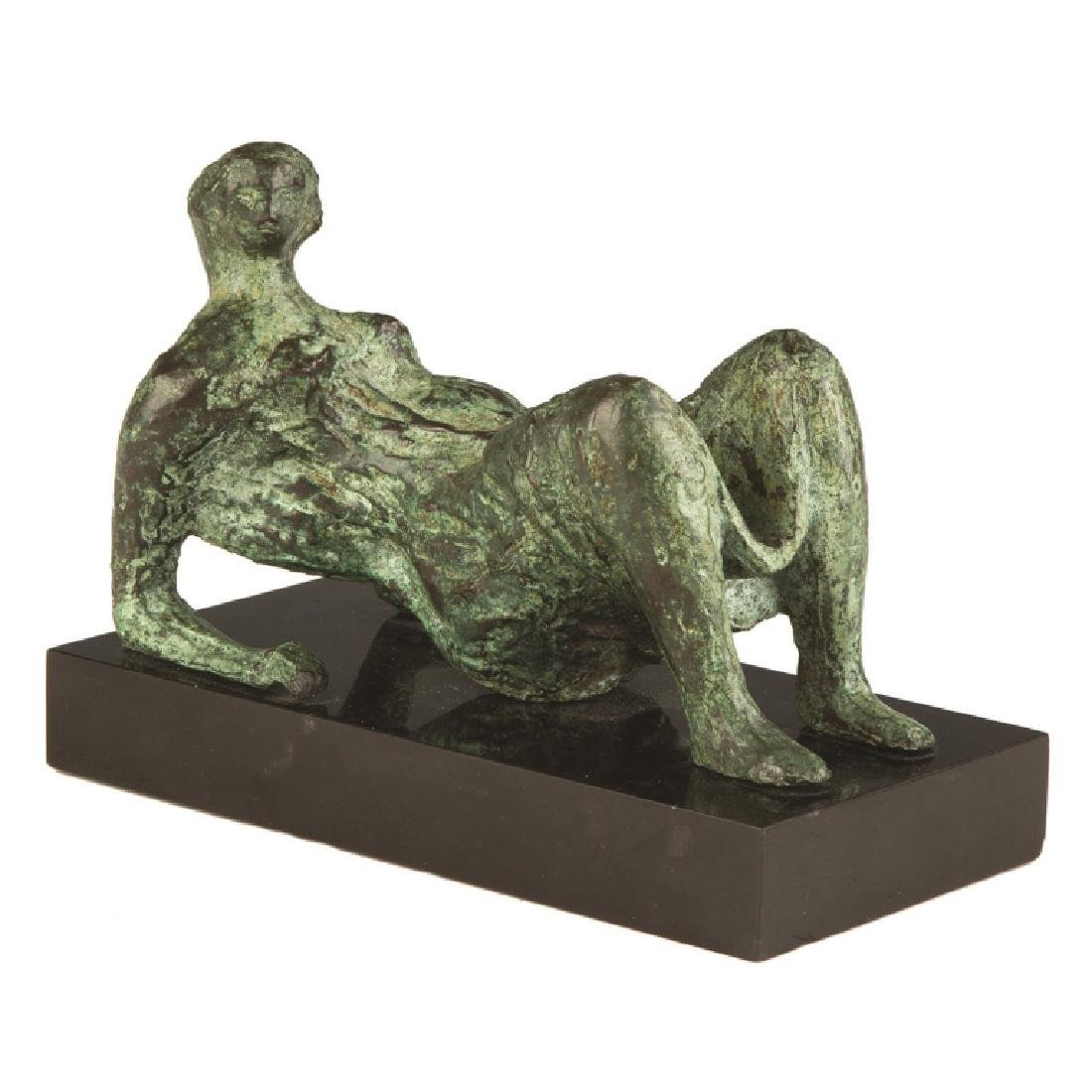 Henry Moore (British, 1898-1986) Bronze Sculpture