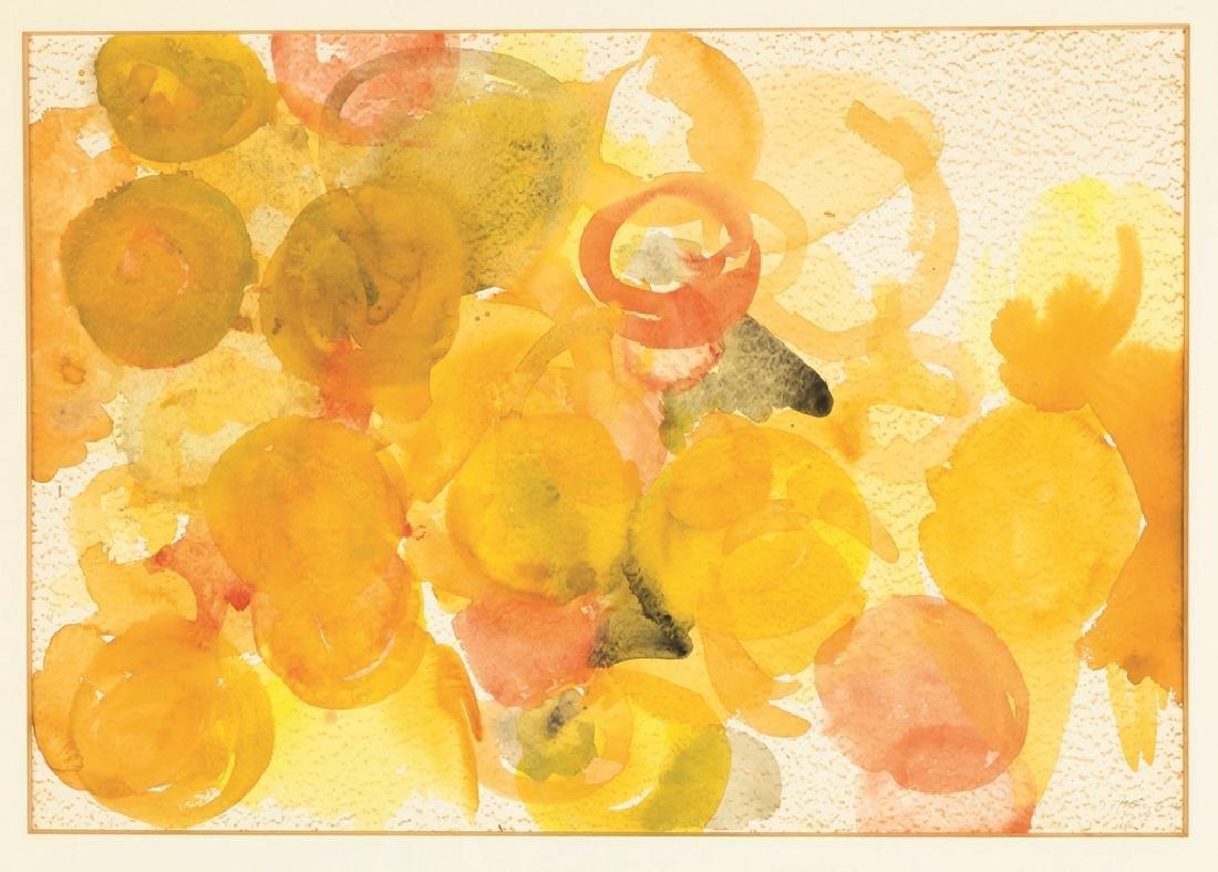 """Ernst Wilhelm Nay (German, 1902-1968) """"Composition"""""""