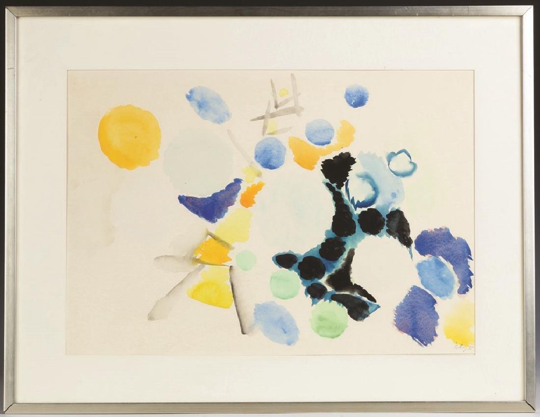 Ernst Wilhelm Nay (German, 1902-1968) Watercolor - 3