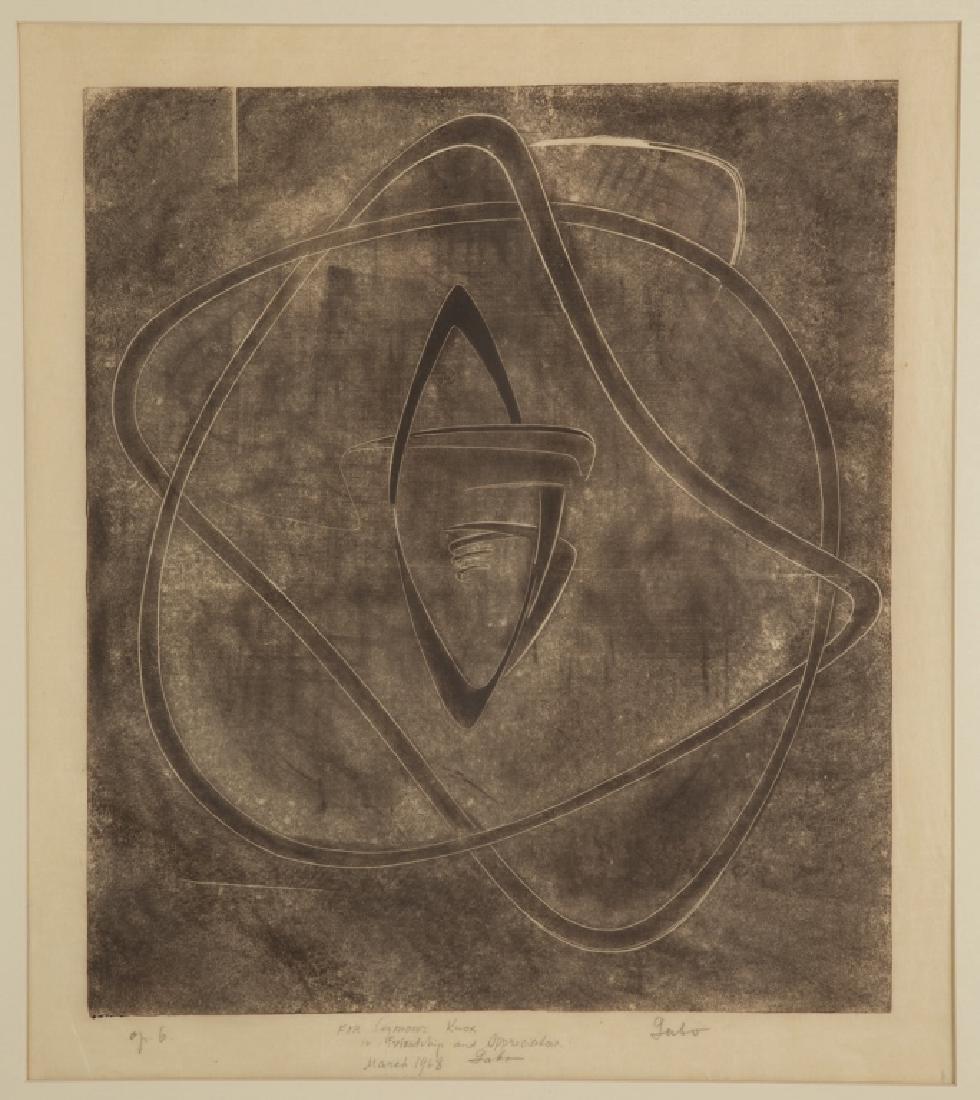 """Naum Gabo (British/Russian, 1890–1977) """"Opus 6"""""""