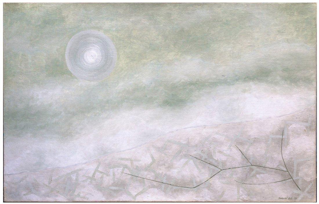 """Tadashi Sato (American, 1923 -2005) """"Composition  8"""""""