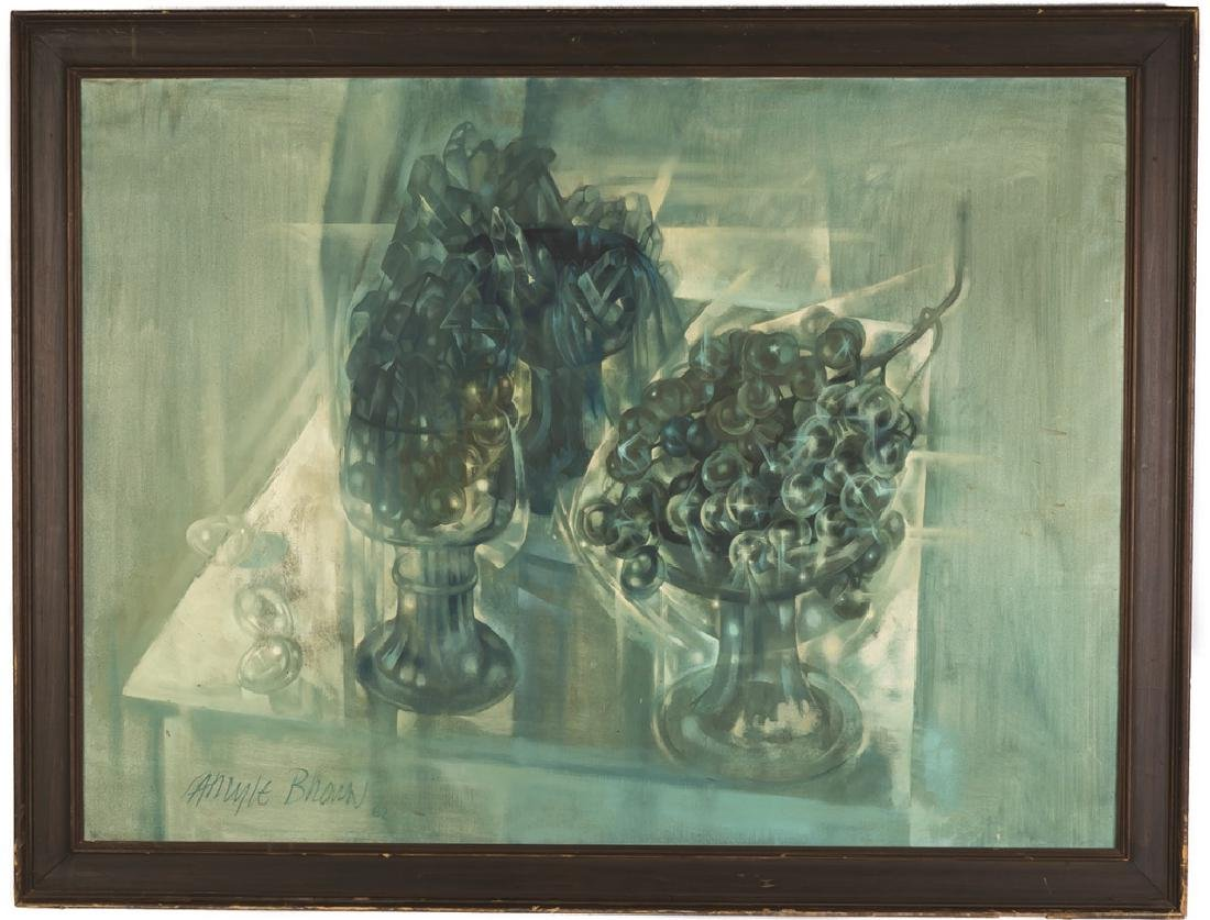 "Carlyle Brown (American, 1919-1963) ""Crystals and"