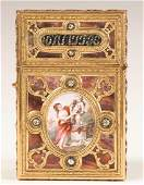 Fine Louis XV Gold, Diamond and Mother of Pearl Carnet