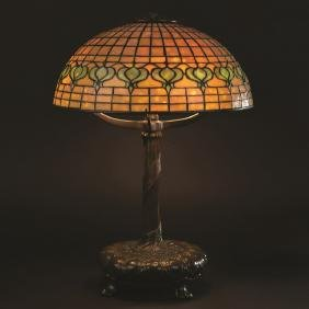 Tiffany Studios Pomegranate Table Lamp