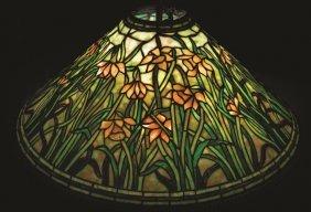 Tiffany Studios Daffodil Hanging Chandelier