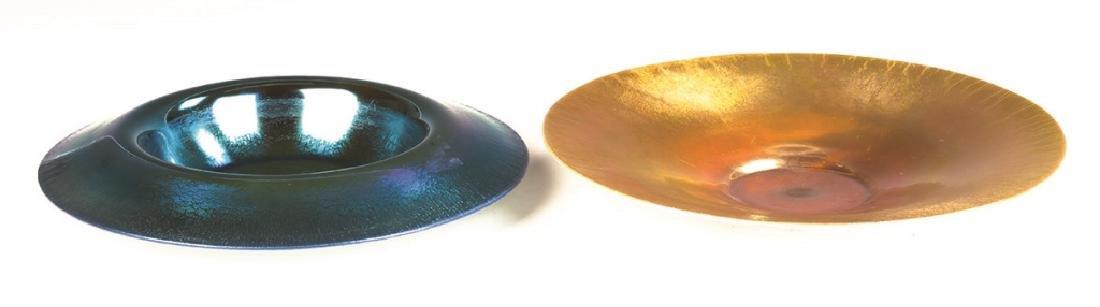 Two Steuben Aurene Bowls - 2