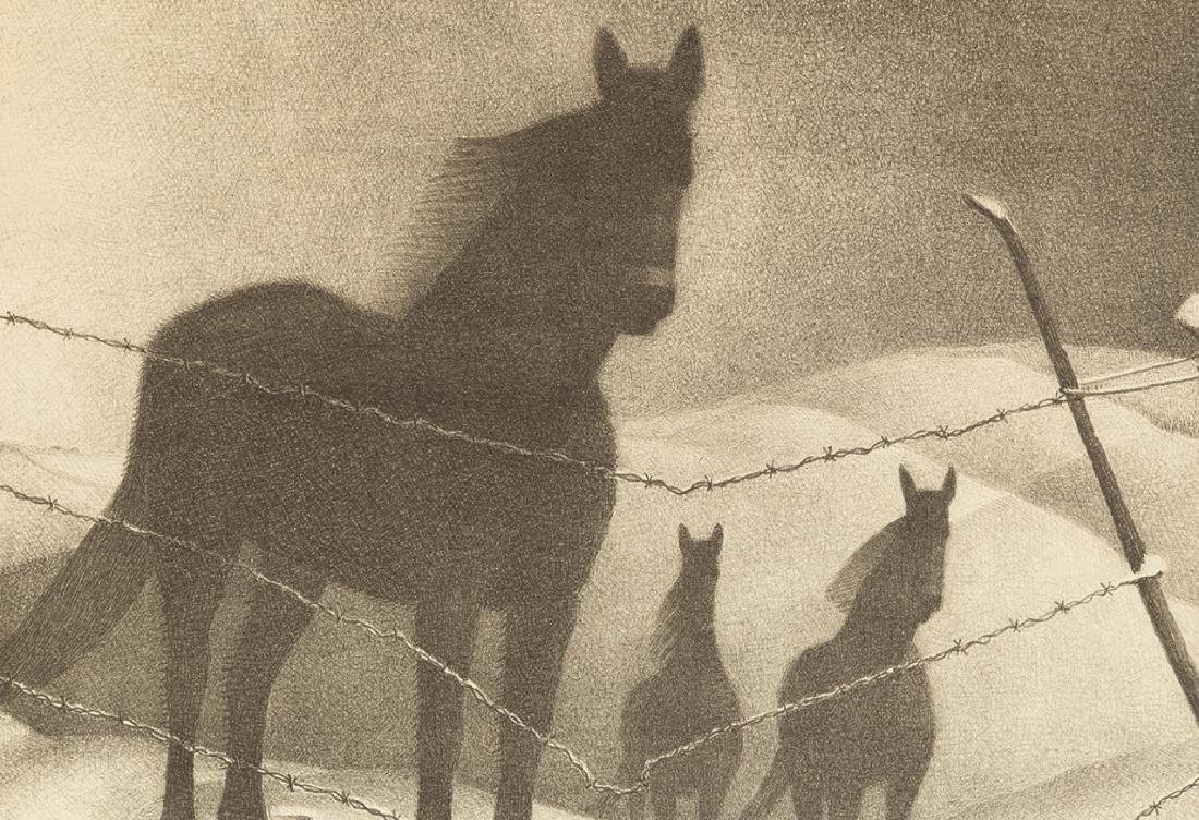 "Grant Wood (American, 1891-1942) ""February"" - 2"