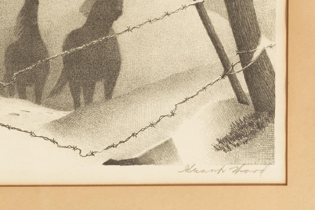 "Grant Wood (American, 1891-1942) ""February"" - 3"