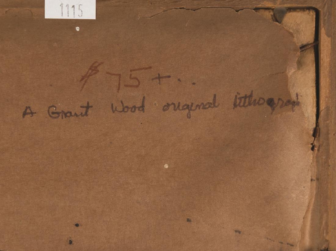 "Grant Wood (American, 1891-1942) ""February"" - 4"