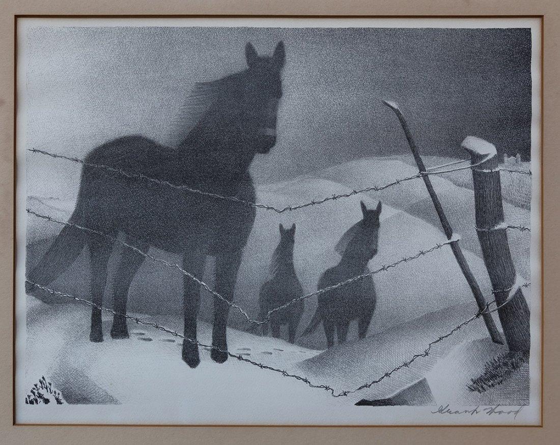 "Grant Wood (American, 1891-1942) ""February"" - 7"