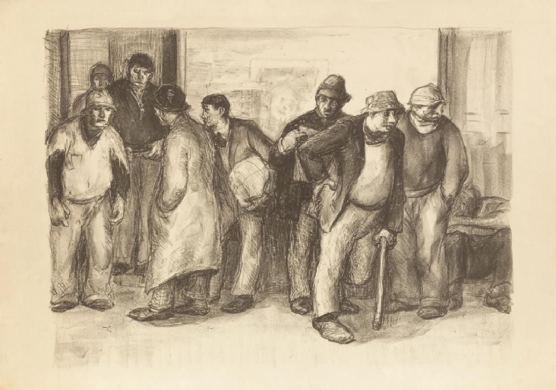 Group of George Renouard (American, 1884-1954) Etchings - 4