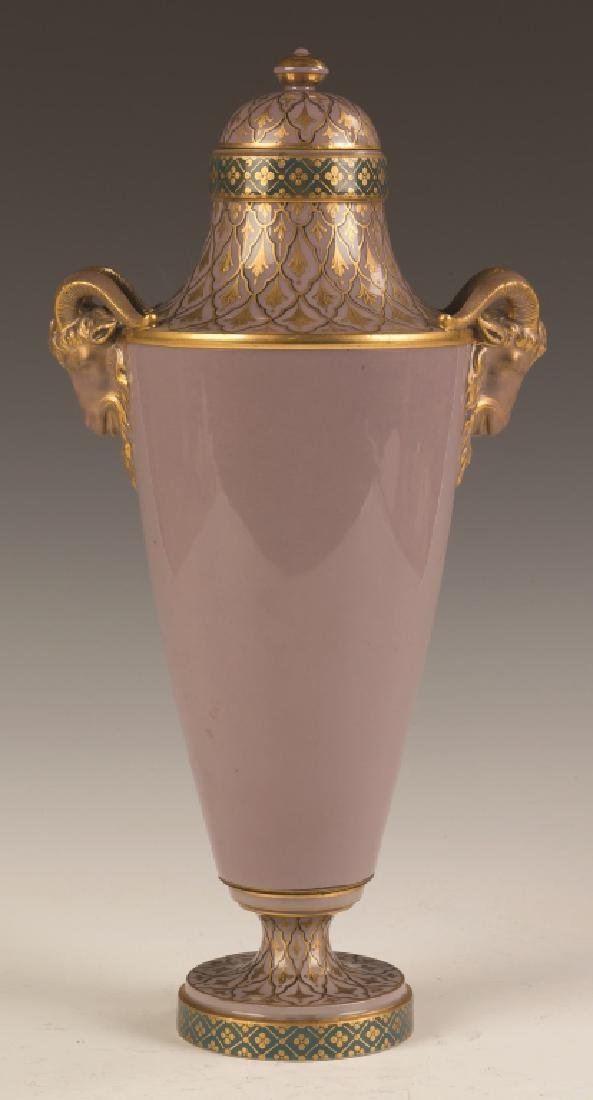 Sevres Pate-sur-Pate Vase with a Nude - 2
