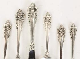 Wallace Sterling Silver Flatware - Grand Baroque