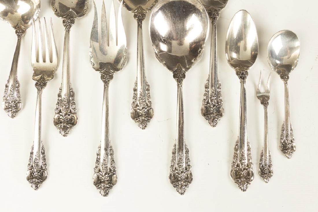 Wallace Sterling Silver Flatware - Grand Baroque - 3