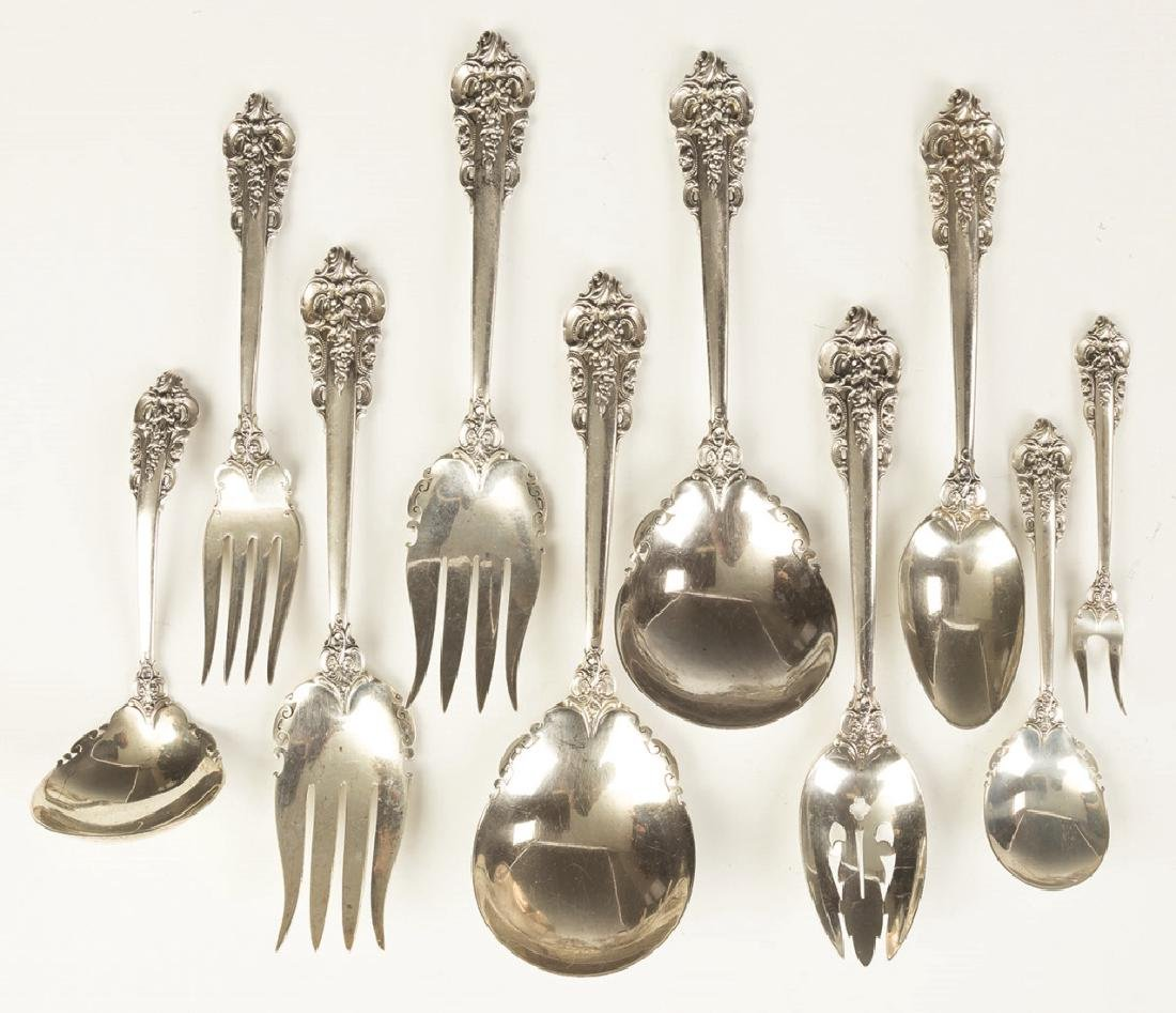 Wallace Sterling Silver Flatware - Grand Baroque - 4