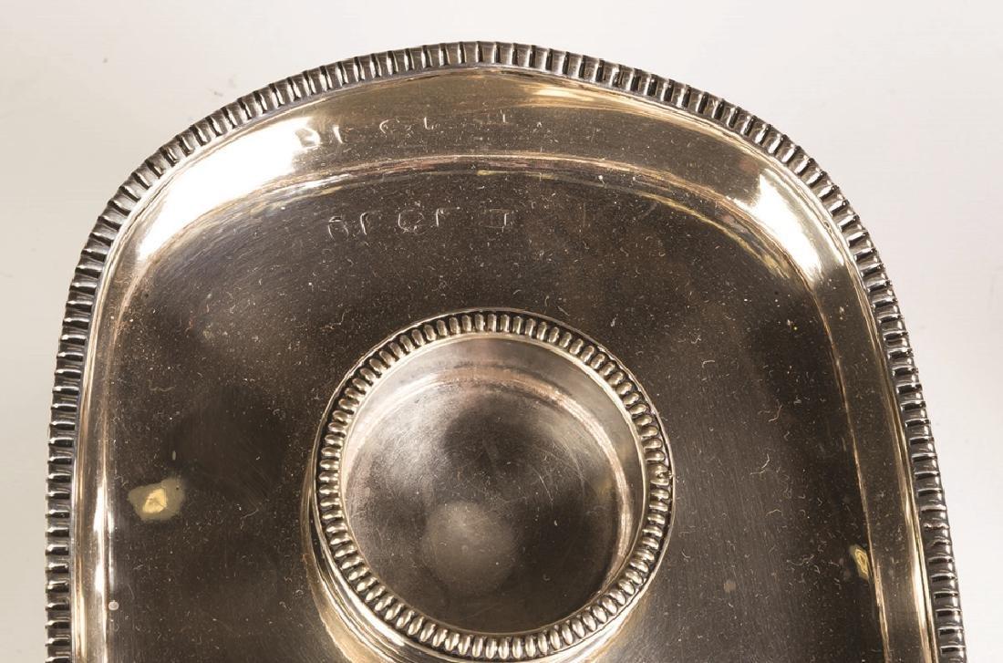 Thomas Lamborn, English Sterling Silver Ink Stand - 2