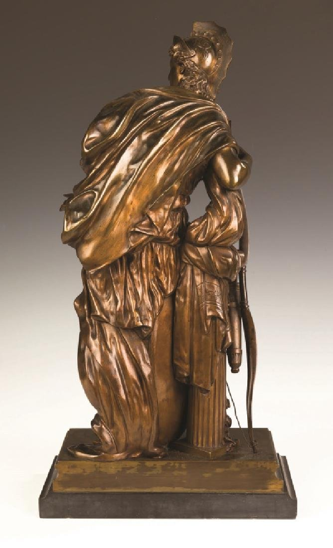 """Mathurin Moreau (French, 1822-1912) """"Antiope"""" Bronze - 4"""