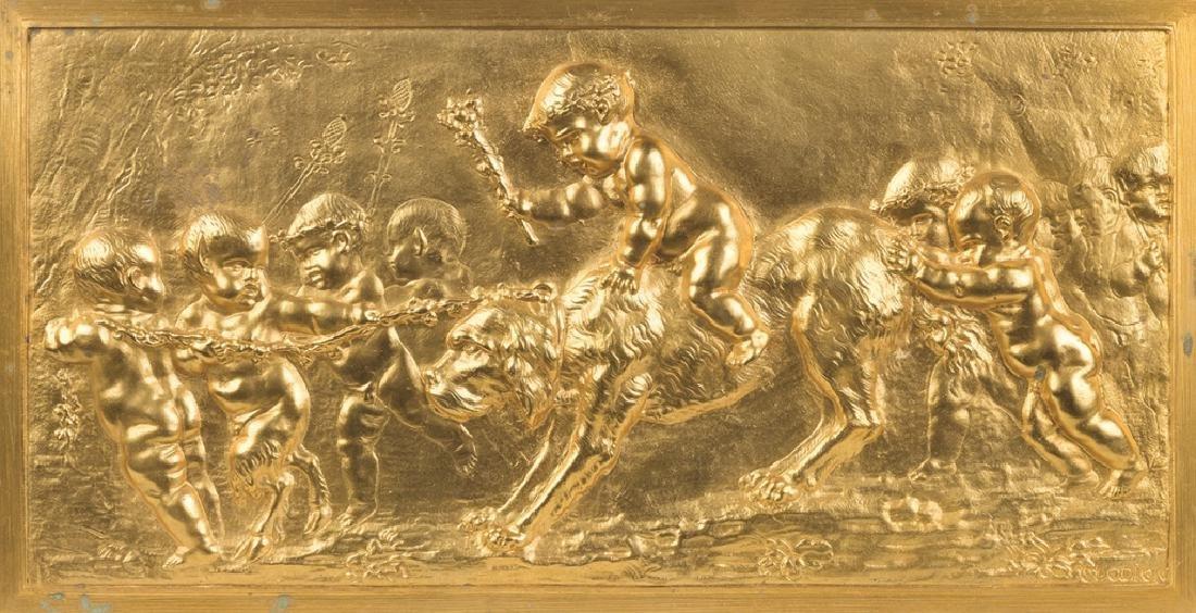 Three Cast Bronze Plaques - 2