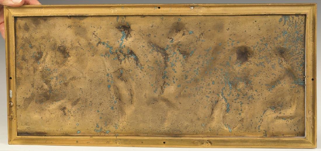 Three Cast Bronze Plaques - 3