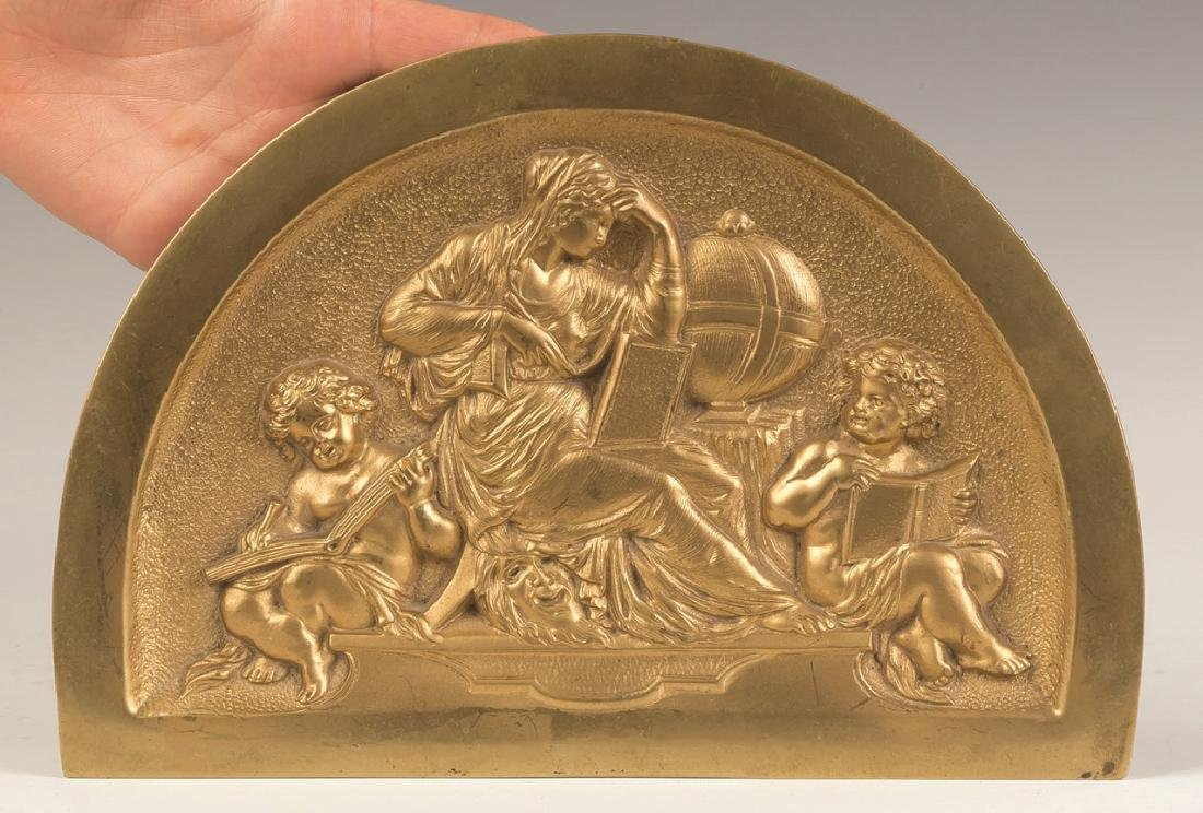 Three Cast Bronze Plaques - 4