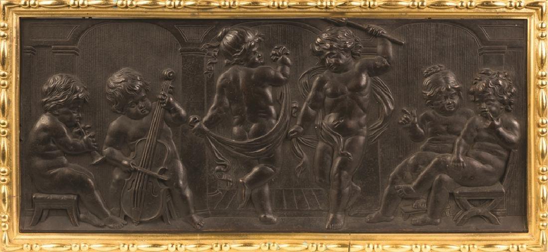 Three Cast Bronze Plaques - 6