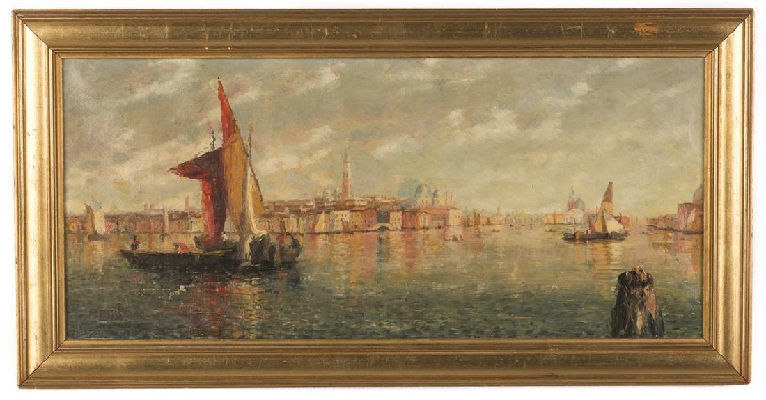 William Birdsall Gifford (American, 1839-1929) Venetian