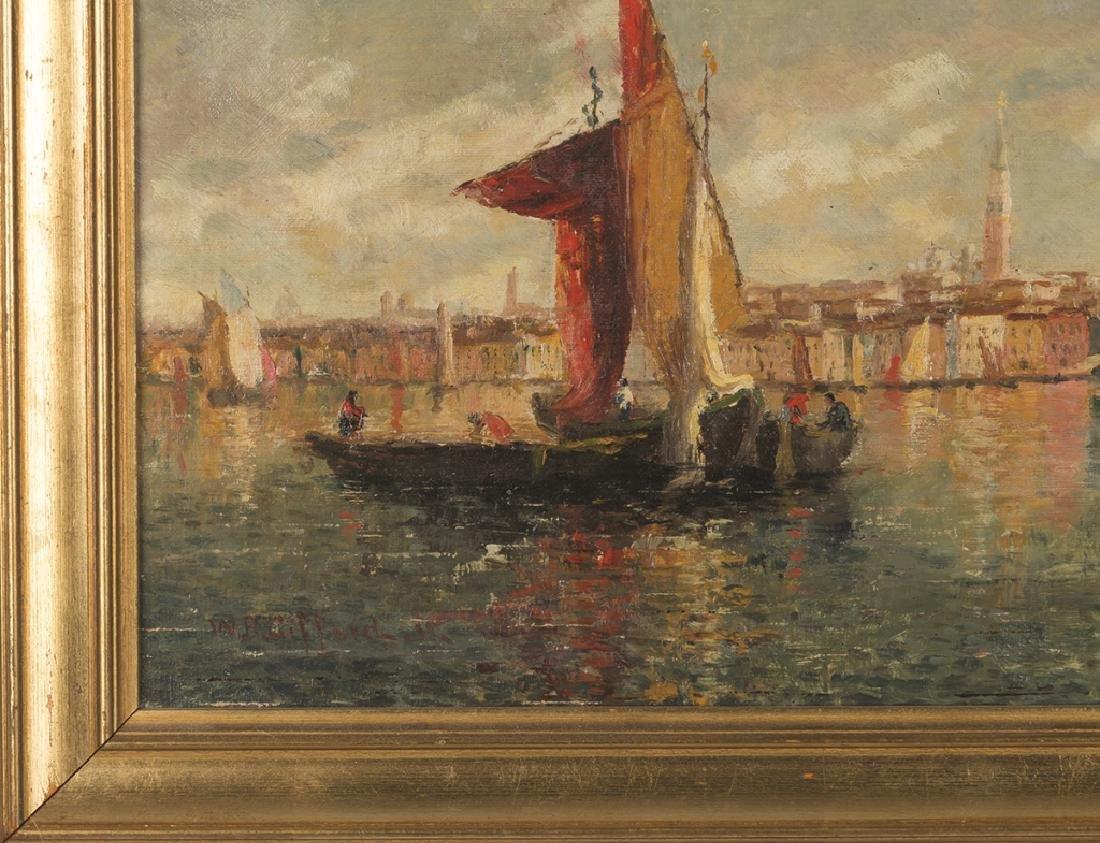 William Birdsall Gifford (American, 1839-1929) Venetian - 2