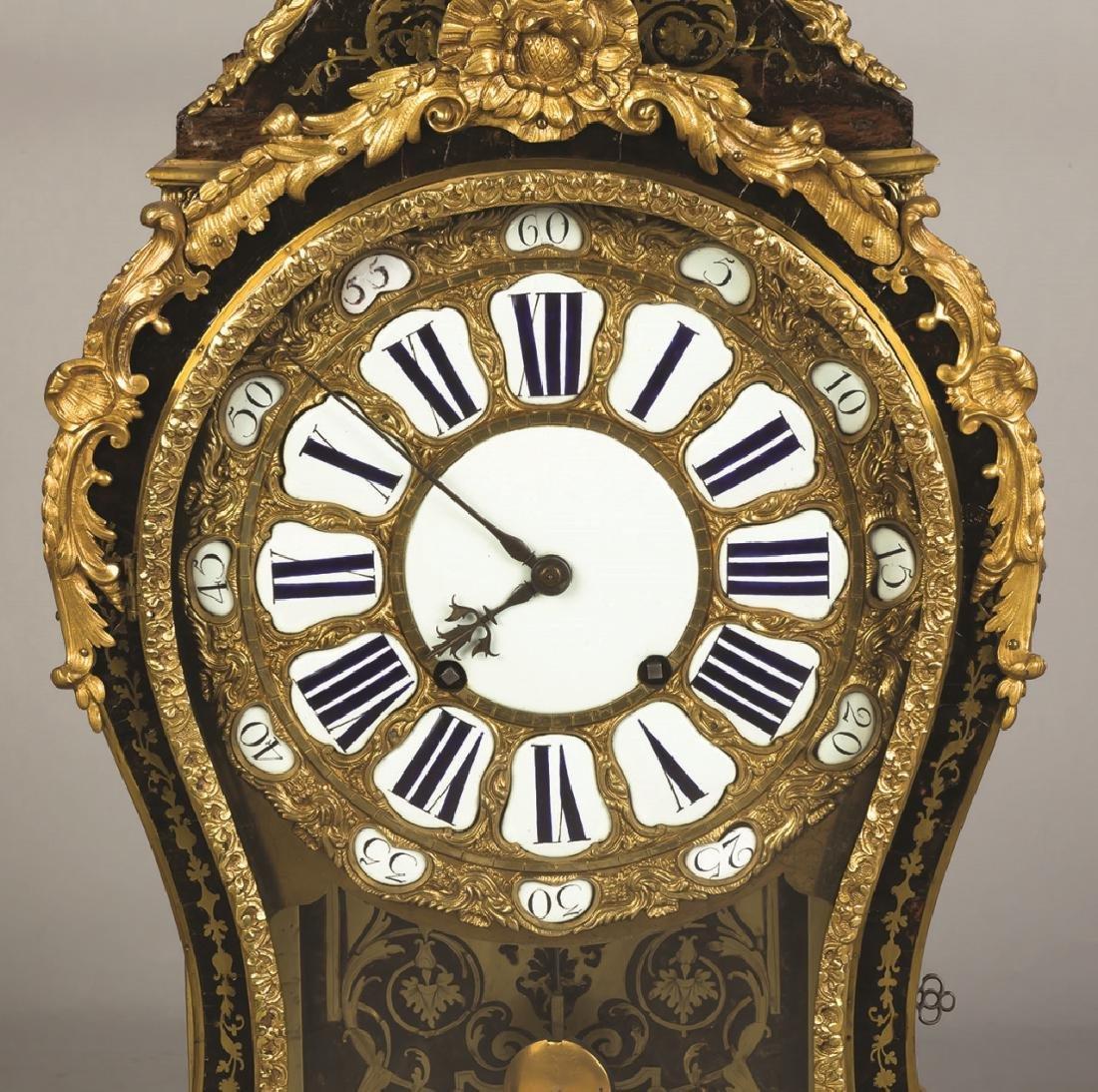 Gilt Bronze and Boule Mantel Clock - 2