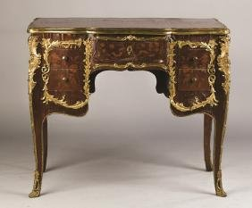 French Style Marquetry Ladies Desk