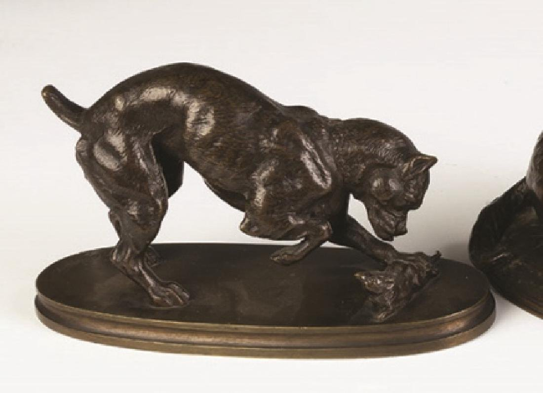 Henri Emile Adrien Trodoux (French, 19th century) Boxer - 2