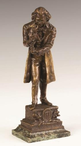 Carl Kauba (Austrian, 1865-1922) Bronze of a Figure
