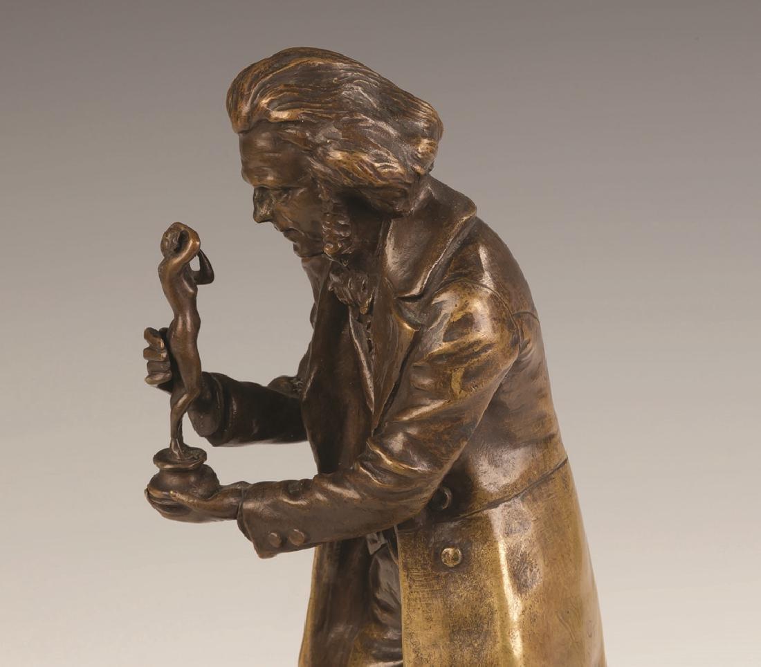 Carl Kauba (Austrian, 1865-1922) Bronze of a Figure - 2