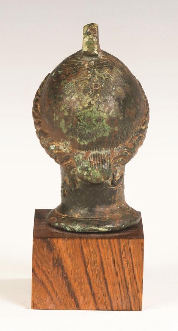Cast Bronze Roman Head of a Lady - 3