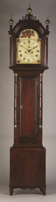 Frederick Wingate Tall Case Clock, Augusta, Maine