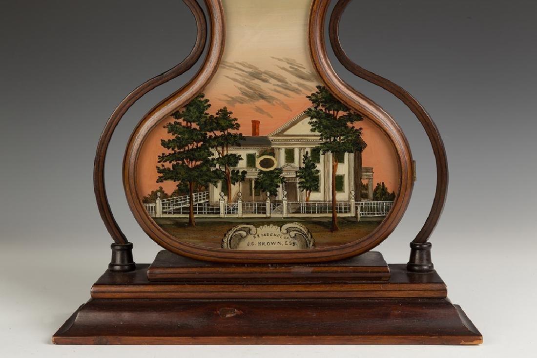 Fine J.C. Brown Acorn Shelf Clock, Bristol, CT - 2