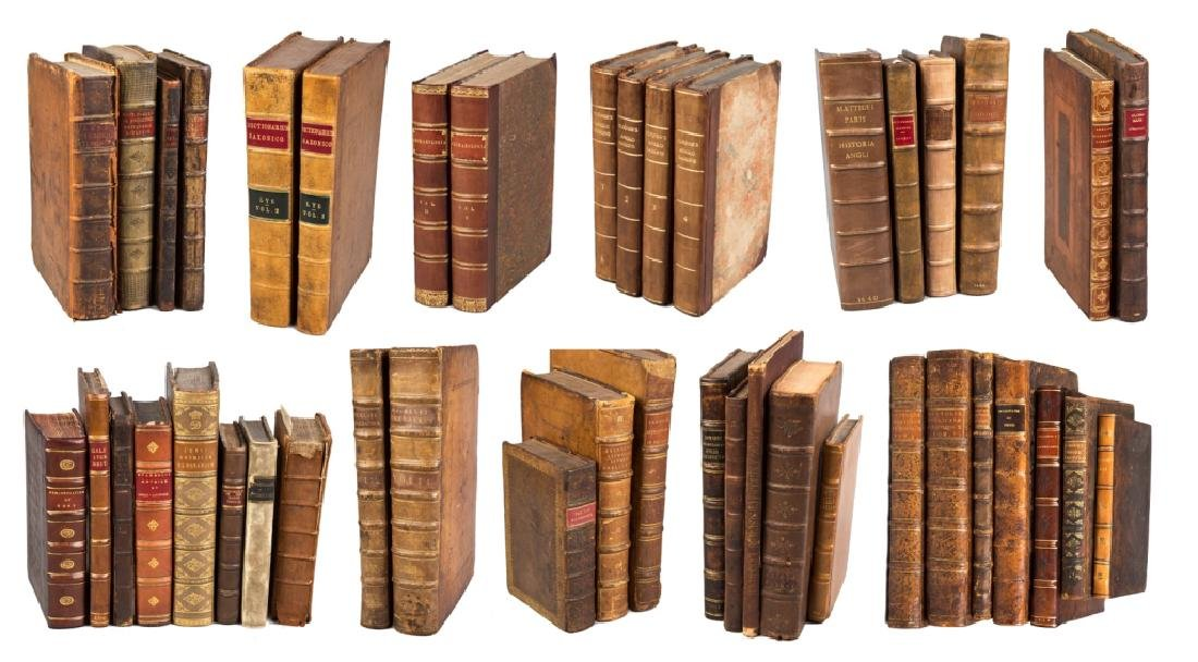 Collection of Books (17th - 19th Century)