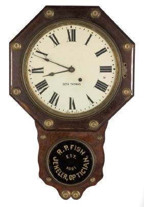 Seth Thomas Advertising Wall Clock