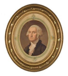George Washington Print After Gilbert Stuart